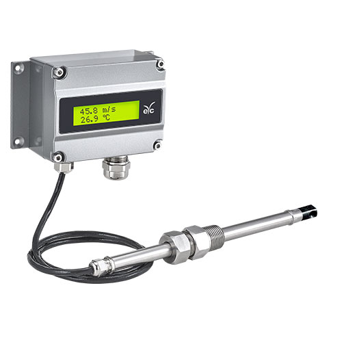 eYc FTM85 Industry degree high accuracy thermo air velocity transmitter